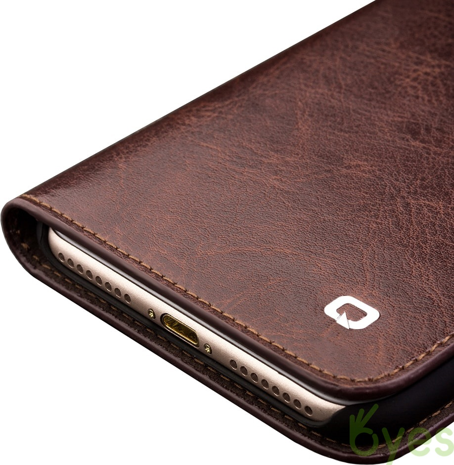 Apple iphone 7 plus official cases leather wallet