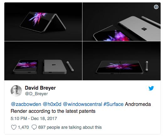 Каким же будет Surface Phone от Microsoft?