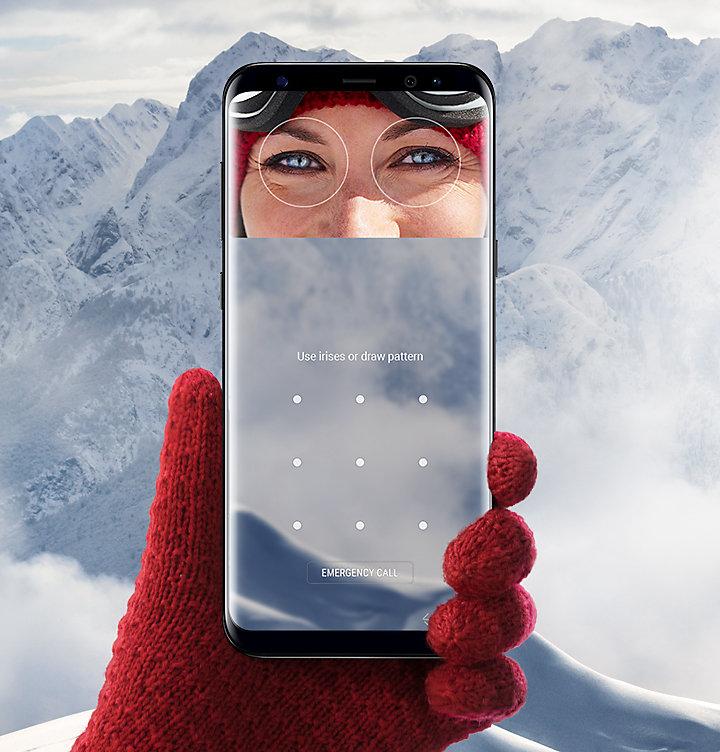 У Samsung Galaxy Note 9 появится улучшенный сканер сетчатки глаза