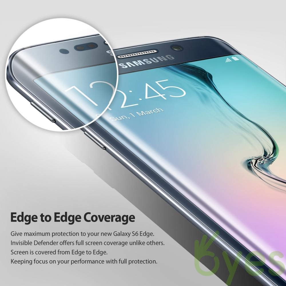 Ringke Invisible Defender Screen Protector Film Rearth Galaxy S8 Samsung S6 Edge Previous Next